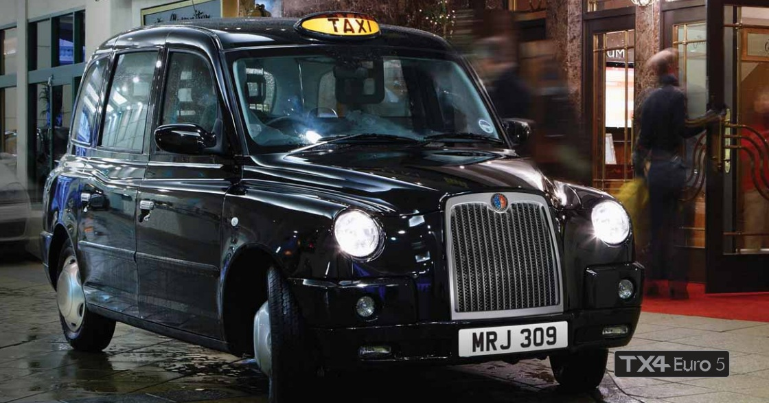 Throught London with a taxi? Now it is posible
